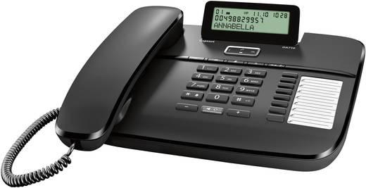 Schnurgebundenes Telefon, analog Gigaset DA710 Headsetanschluss, Freisprechen Matt Schwarz