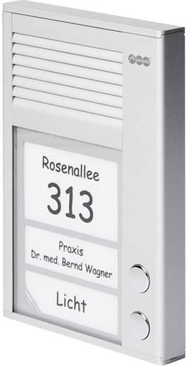 Türsprechanlage Kabelgebunden Komplett-Set Auerswald 90618 2 Familienhaus Silber
