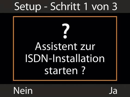 Systemtelefon, ISDN Gigaset DX600A ISDN Anrufbeantworter, Bluetooth Farbdisplay Silber, Schwarz