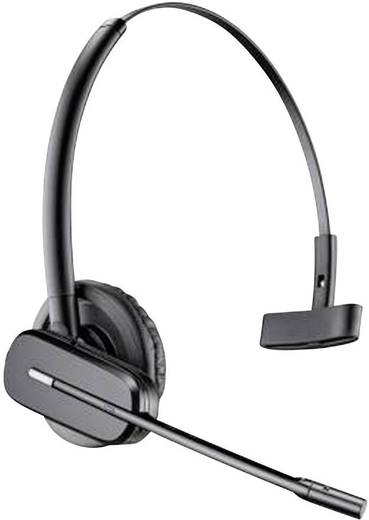 Telefon-Headset DECT schnurlos, Mono Plantronics CS540 + APS-11 In Ear Schwarz