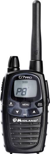 Midland G7 Pro 930419 PMR/LPD-Handfunkgerät 2er Set