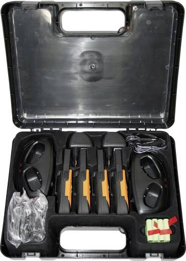 DeTeWe Outdoor 8000 Quad Case 208048 PMR-Handfunkgerät 4er Set