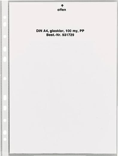 5 Star™ Klarsichthülle, PP, glasklar, Öffung oben, A4, 100my, Inh. 100