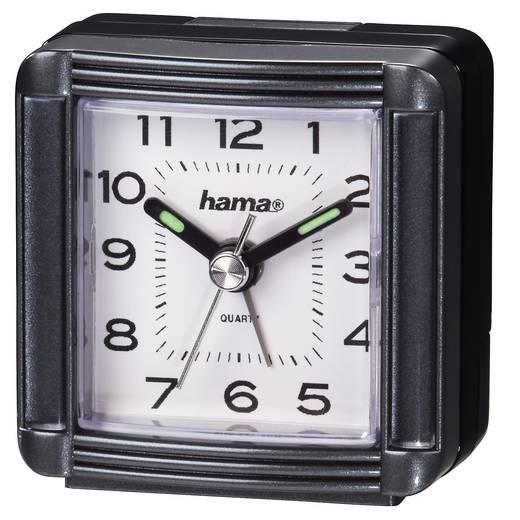 Quarz Wecker Hama 00113937 Grau Alarmzeiten 1 Fluoreszierend Zeiger