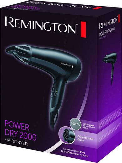 Haartrockner Remington Power Dry 2000 Haartrockner Schwarz