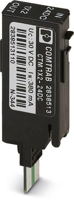 Prise parasurtenseur Phoenix Contact CTM 1X2- 24DC 2838513 5 kA set de 10