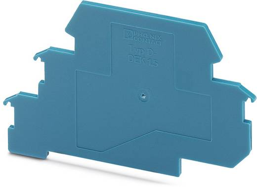 Überspannungsschutz-Abschlussplatte 50er Set Überspannungsschutz für: Verteilerschrank Phoenix Contact D-DEK 1,5 BU 2838