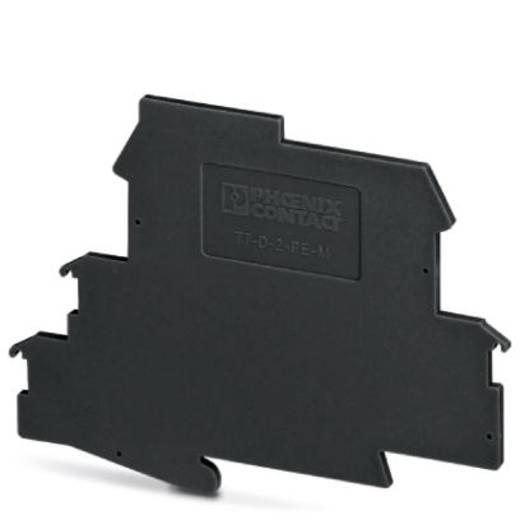 Überspannungsschutz-Abschlussplatte 50er Set Überspannungsschutz für: Verteilerschrank Phoenix Contact TT-D-2-PE-M-BK 29