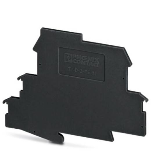 Überspannungsschutz-Abschlussplatte 50er Set Überspannungsschutz für: Verteilerschrank Phoenix Contact TT-D-2-PE-M-BK 2920654