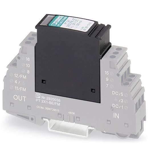 Überspannungsschutz-Ableiter steckbar 10er Set Überspannungsschutz für: Verteilerschrank Phoenix Contact PT 2X1-24DC/FM-ST 2920120 10 kA