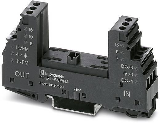 Überspannungsschutz-Sockel 10er Set Überspannungsschutz für: Verteilerschrank Phoenix Contact PT 2X1-BE/FM 2920036