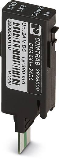 Überspannungsschutz-Stecker 10er Set Überspannungsschutz für: Netzwerk (LSA) Phoenix Contact CTM 2X1- 12DC 2838584 5 kA