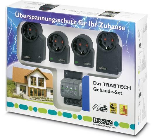 Überspannungsschutz-Zwischenstecker Set Überspannungsschutz für: Verteilerschrank, DVB-C, Kabel (Koax), DVB-S, Sat (F-St