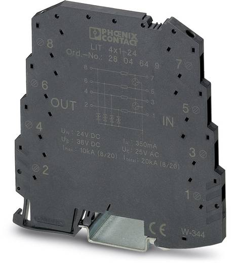 Phoenix Contact LIT 4X1-24 2804649 Überspannungsschutz-Ableiter 10er Set Überspannungsschutz für: Verteilerschrank 5 kA