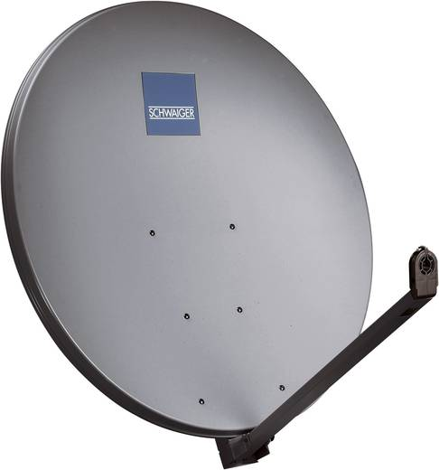 Schwaiger SPI1000.1 SAT Antenne 100 cm Reflektormaterial: Aluminium Anthrazit
