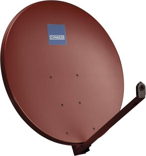 SAT Antenne 100 cm Schwaiger SPI1000.2 Reflektormaterial: Aluminium Ziegel-Rot