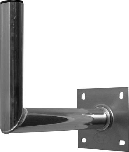 SAT-Wandhalterung A.S. SAT 10035 Wandabstand: 35 cm Passend für Spiegelgröße: Ø bis 90 cm Silber