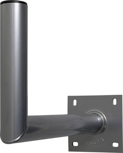 SAT-Wandhalterung A.S. SAT Wandabstand: 45 cm Passend für Spiegelgröße: Ø bis 90 cm Silber