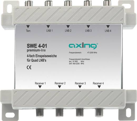 Einspeiseweiche Axing SWE 4-01 5 - 2200 MHz