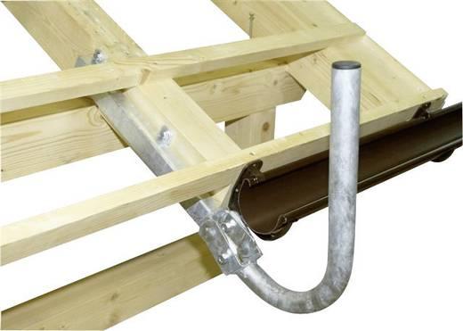 A.S. SAT 51900 SAT-Dachhalterung Passend für Spiegelgröße: Ø bis 90 cm Silber