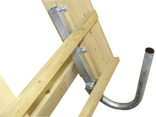 SAT-Dachhalterung A.S. SAT Passend für Spiegelgröße: Ø bis 90 cm Silber