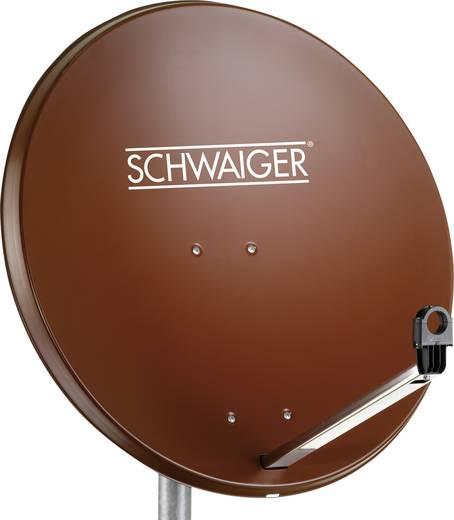 SAT Antenne 80 cm Schwaiger SPI996.2 Reflektormaterial: Stahl Ziegel-Rot