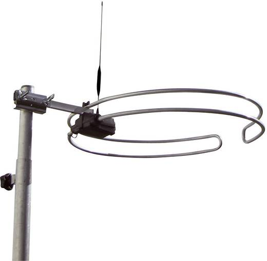 Passive DVB-T/T2-Dachantenne Wittenberg Antennen WB 2345-2 Außenbereich Silber