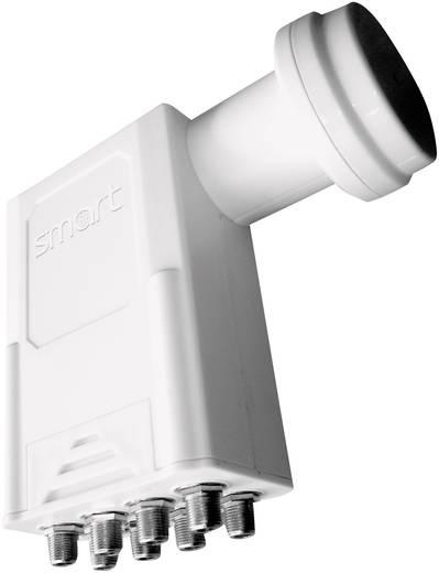 Octo-LNB Smart Titanium Universal TO Teilnehmer-Anzahl: 8 Feedaufnahme: 40 mm mit Switch