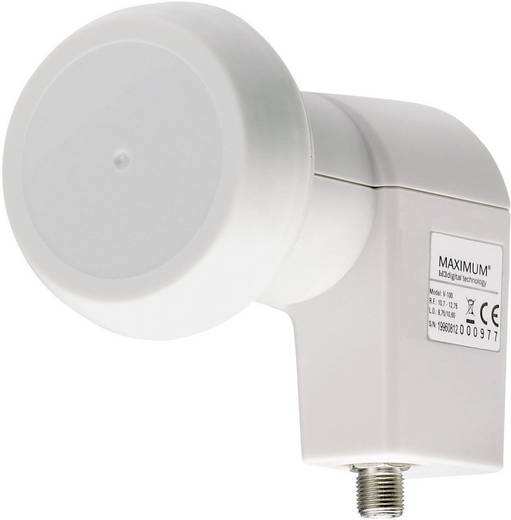 Single-LNB Maximum Pro P-1 Teilnehmer-Anzahl: 1 Feedaufnahme: 40 mm