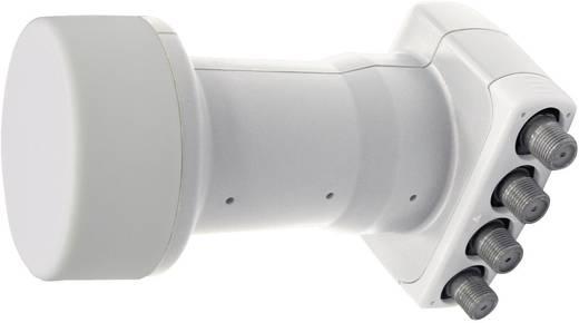 Maximum Pro P-4 Quad-LNB Teilnehmer-Anzahl: 4 Feedaufnahme: 40 mm mit Switch