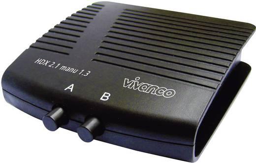 2 Port HDMI-Switch Vivanco 25349 Schwarz