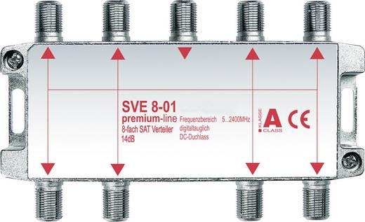 Axing 8-fach SAT-Verteiler SVE 8-01