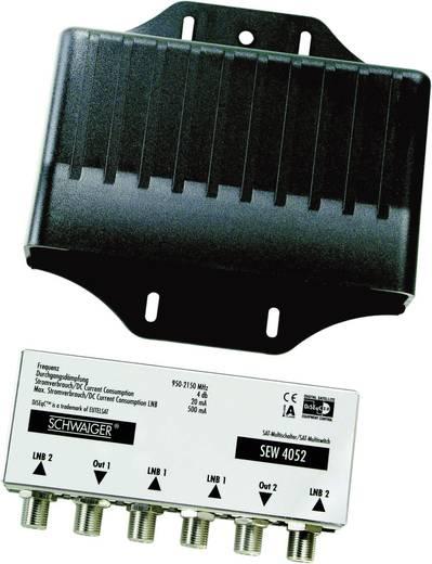 SAT-Anlage ohne Receiver 2 Schwaiger SPI9962SET4 80 cm