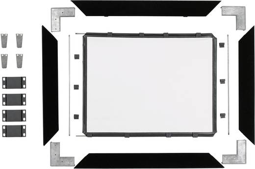 Reprolux Screens Cineframe 30 500738 Leinwand Einbaurahmen 200 x 150 cm Bildformat: 4:3