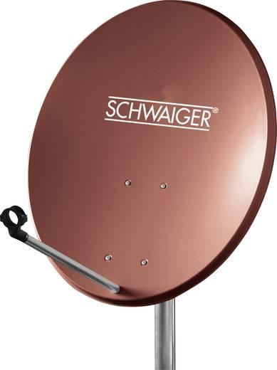 Schwaiger SPI550.2 SAT Antenne 60 cm Reflektormaterial: Stahl Ziegel-Rot