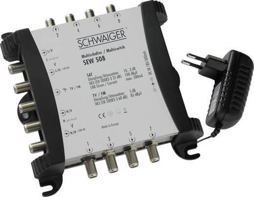 SAT-Anlage ohne Receiver 8 Schwaiger SPI9960SET6 80 cm