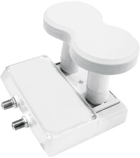 Twin-LNB Monoblock Smart Titanium Universal TMT43 Teilnehmer-Anzahl: 2 Feedaufnahme: 40 mm