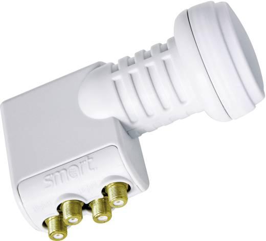 Quad-LNB Smart Titanium Universal TQS Teilnehmer-Anzahl: 4 Feedaufnahme: 40 mm mit Switch