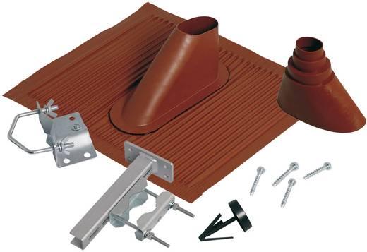 Dachziegel-Dichtung A.S. SAT 44300 Passend für Mast-Ø (max.): 60 mm Ziegel-Rot