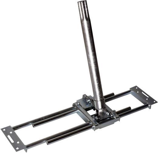 SAT-Dachhalterung A.S. SAT Passend für Spiegelgröße: Ø 100 cm Neigbar Silber