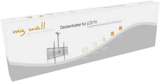 """TV-Deckenhalterung 94,0 cm (37"""") - 160,0 cm (63"""") Neigbar My Wall HP 3 L"""