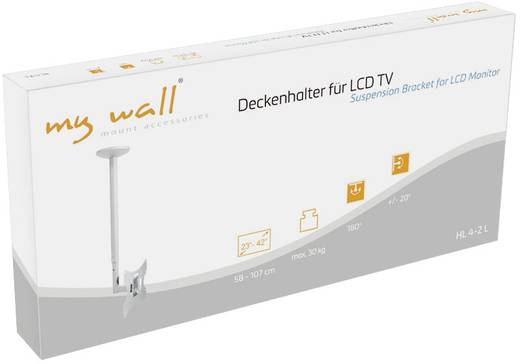 "TV-Deckenhalterung 58,4 cm (23"") - 106,7 cm (42"") Neigbar+Schwenkbar My Wall HL 4-2 L"