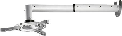 Beamer-Wandhalterung Neigbar Wandabstand (max.): 56 cm My Wall H 16-6 Silber (matt)