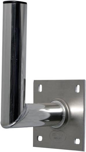 SAT-Wandhalterung A.S. SAT Wandabstand: 15 cm Passend für Spiegelgröße: Ø bis 90 cm Silber