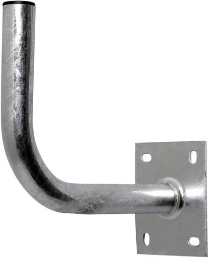 SAT-Wandhalterung A.S. SAT Wandabstand: 30 cm Passend für Spiegelgröße: Ø bis 75 cm Silber