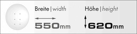 Schwaiger SPI5501SET2 SAT-Anlage ohne Receiver Teilnehmer-Anzahl 2 60 cm
