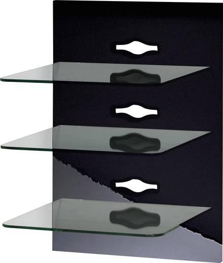 "VCM Paneelserie ""Xeno-3"" Schwarzlack / Klarglas"