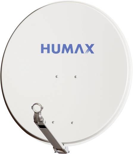 SAT Antenne 75 cm Humax 75 Pro H Reflektormaterial: Aluminium Hellgrau
