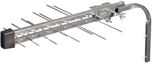 Aktive DVB-T/T2-Dachantenne Wittenberg Antennen WB 201 R + SN20 + OM-2R/1 Außenbereich Verstärkung=25 dB Silber