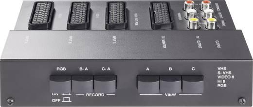 3 Port SCART-Umschalter SpeaKa 942705 mit Überspielfunktion